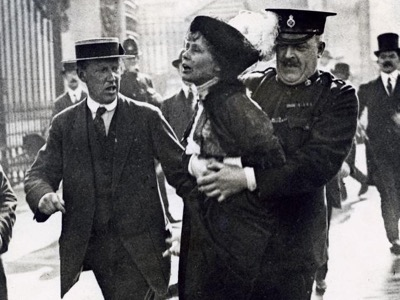 emmeline pankhurst votes for women featured