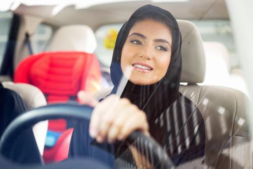 saudi arabian women driving