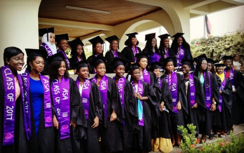 African Science Academy for Girls 2017