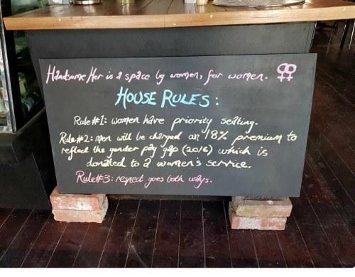 Handsome Cafe, man tax