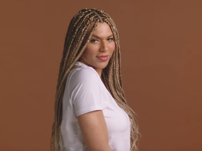 Munroe Bergdorf becomes the first transgender woman in a L'Oréal UK campaign
