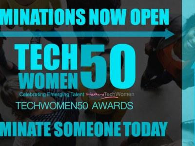 nominations open techwomen50