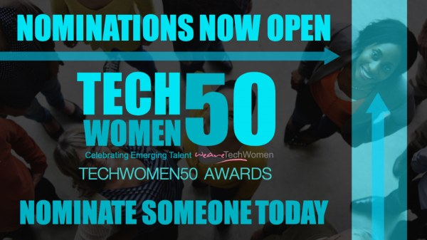 nominations open techwomen50