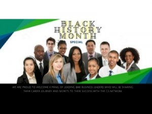 GS Power Series: Black History Month Special @ Reed Smith | England | United Kingdom