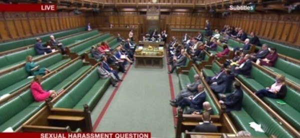 House of Commons sexual harassment debate