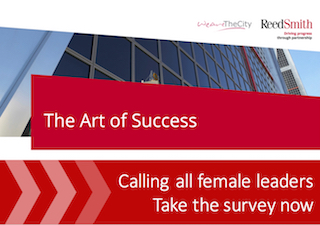 WeAreTheCity and Reed Smith are conducting a study on female leadership. Click here to find out more