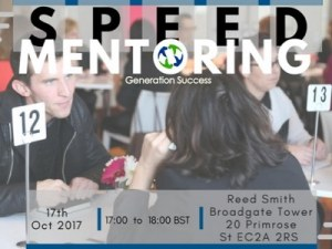 Speed Mentoring Black History Month Special @ Reed Smith | England | United Kingdom