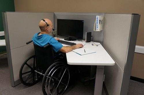 disabled job seeker