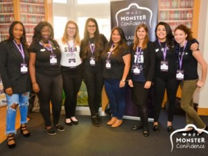Monster and Stemettes partner for a second year to inspire STEM confidence in young women across the UK @ Plexal | England | United Kingdom