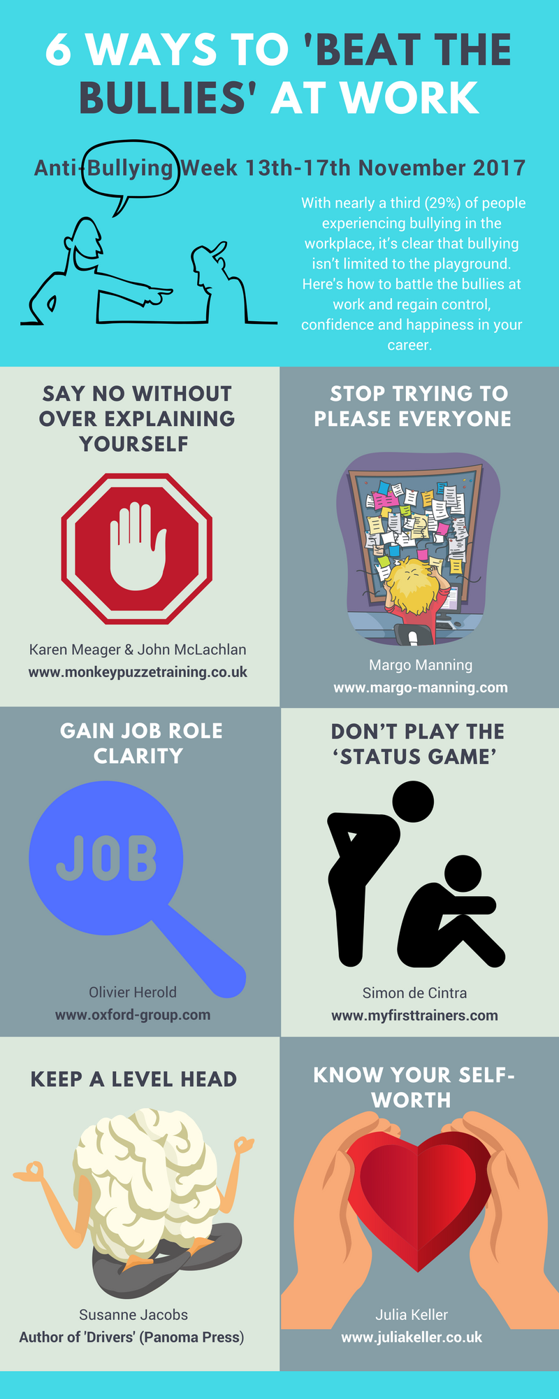 6 Ways to 'beat the bullies' at work (2)