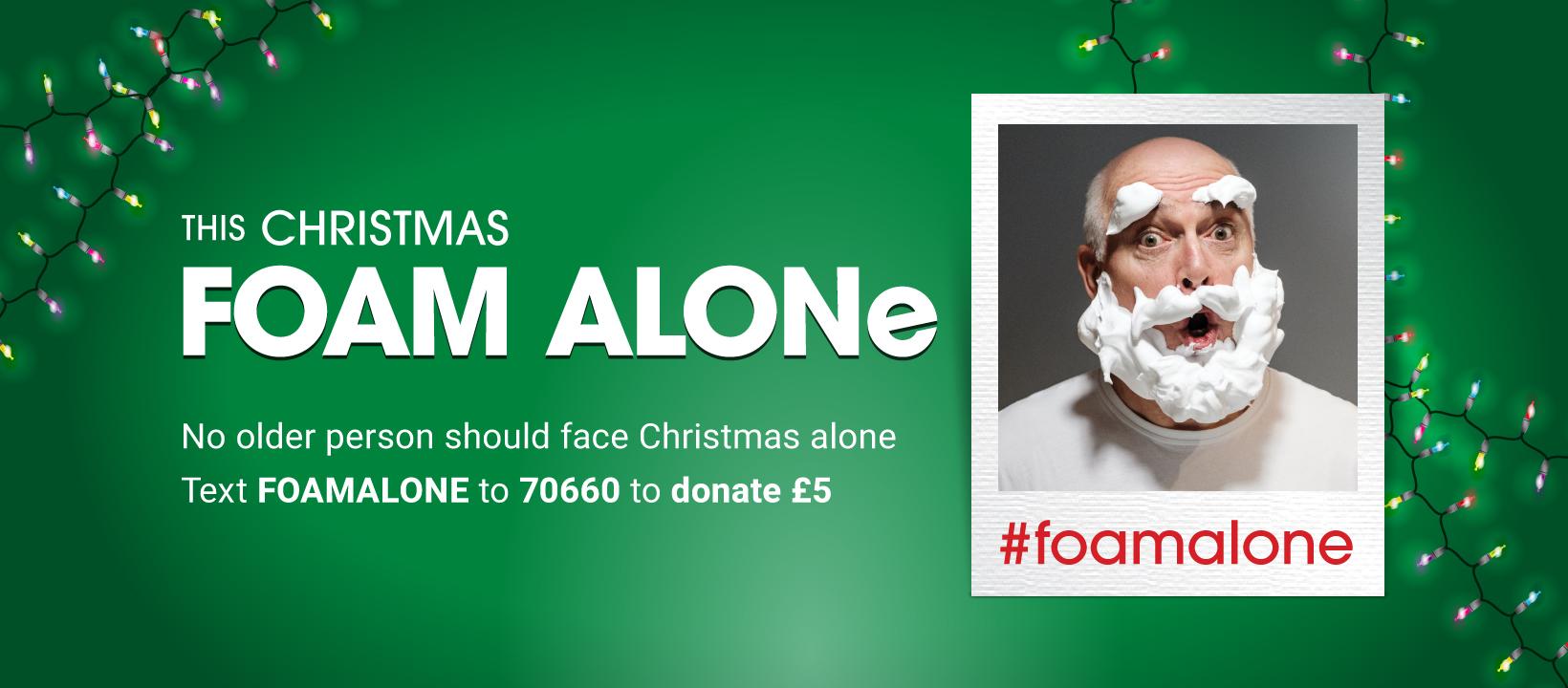 foam alone