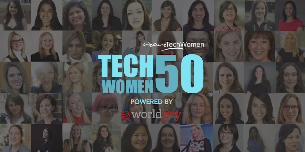 Tech Women 50 award winners