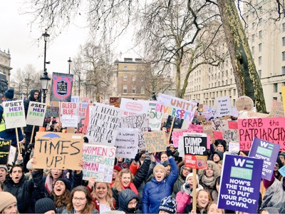 Women's March london featured