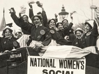 Women's suffrage featured