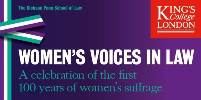 Women's voices in law