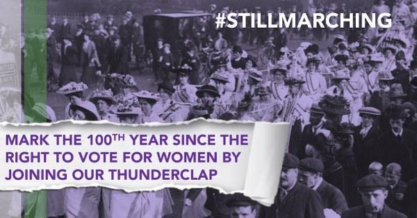 Thunderclap centenary post