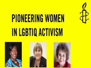 Pioneering Women in LGBTIQ Activism @ Human Rights Action Centre | England | United Kingdom
