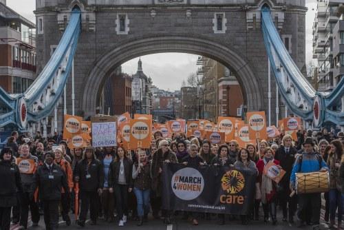 CARE International's #March4Women, London, UK 04 Mar 2017