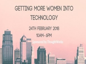 Getting More Women Into Technology @ ThoughtWorks London | England | United Kingdom
